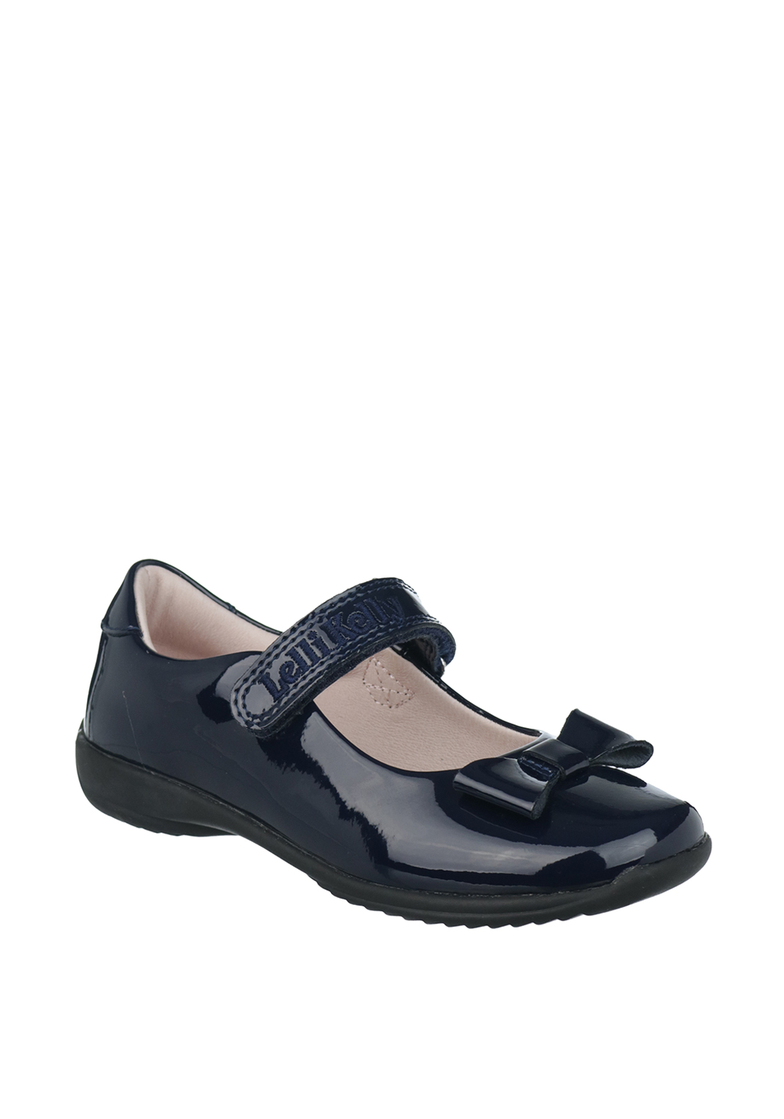 Lelli Kelly Girls Patent Leather Mary Jane School Shoes, Navy