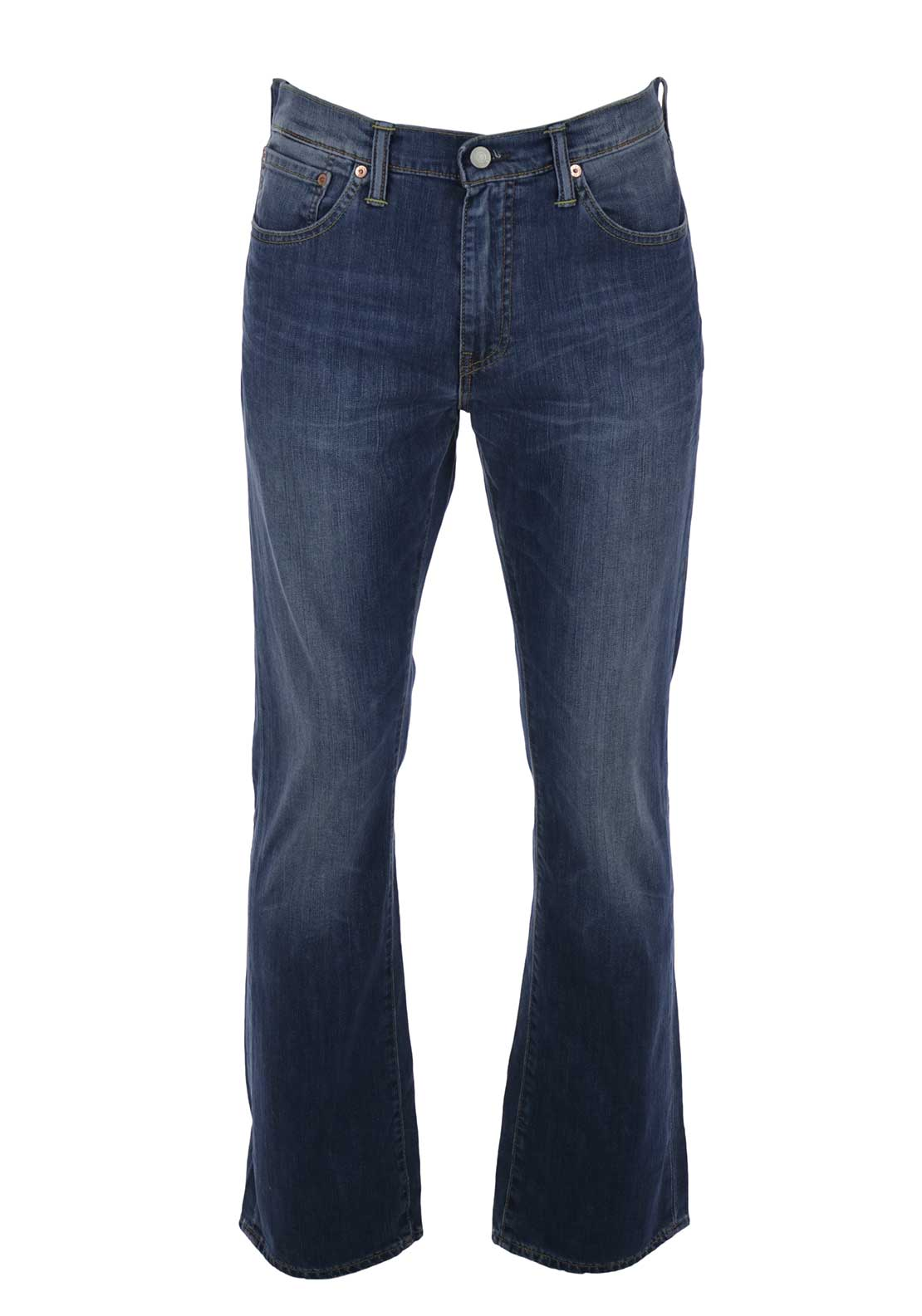Levis Mens 527 Slim Bootcut Jeans, Mostly Mid Blue