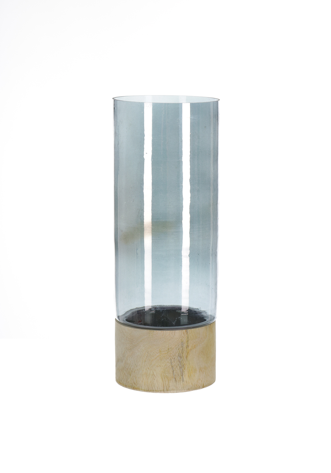 Light and Living Glass Tea Light Holder