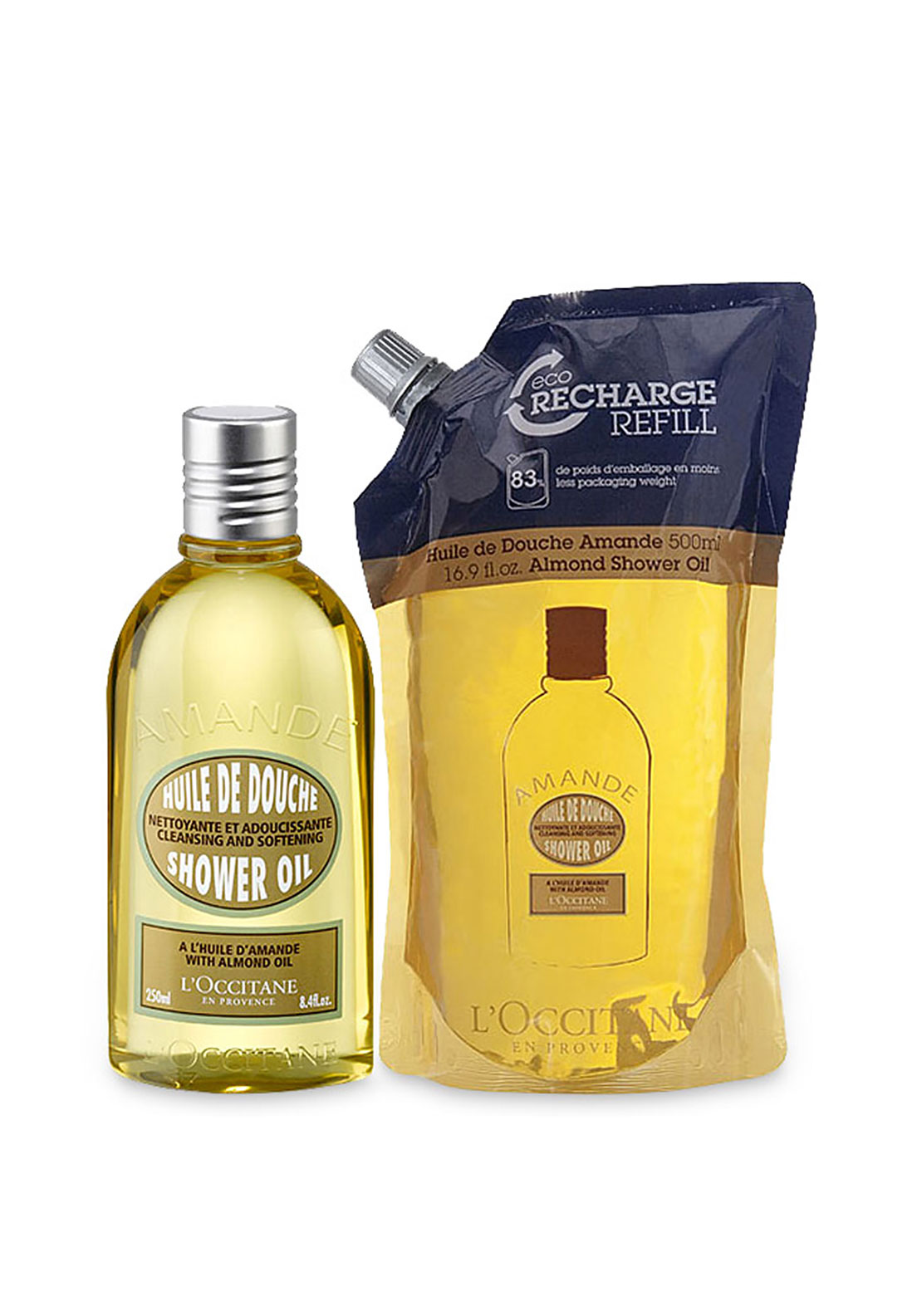 L'Occitane Almond Shower Oil Duo