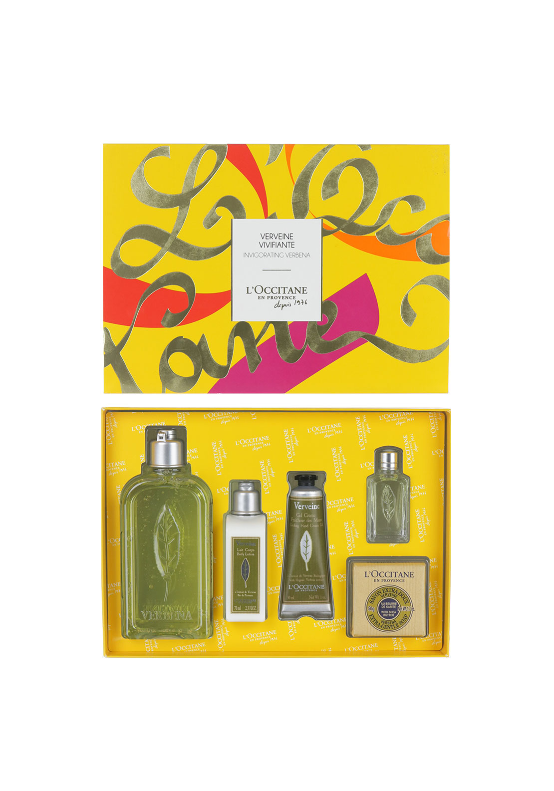 L'Occitane's en Provence Invigorating Verbena Collection Gift Set