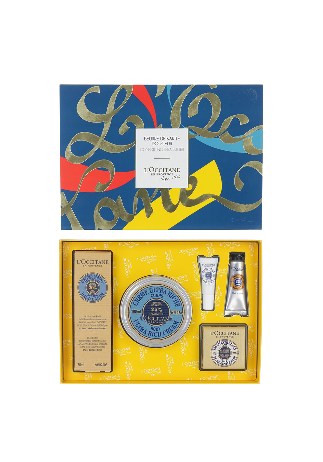 L'Occitane's en Provence Comforting Shea Butter Collection Gift Set