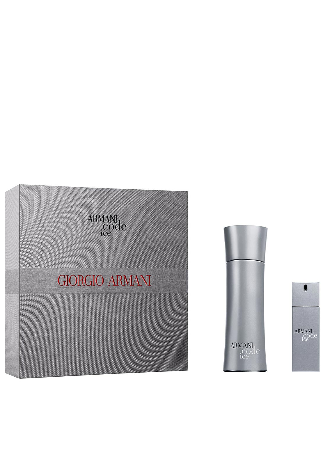 Giorgio Armani Eau de Toilette Armani Code Ice for Men Gift Set, 75ml