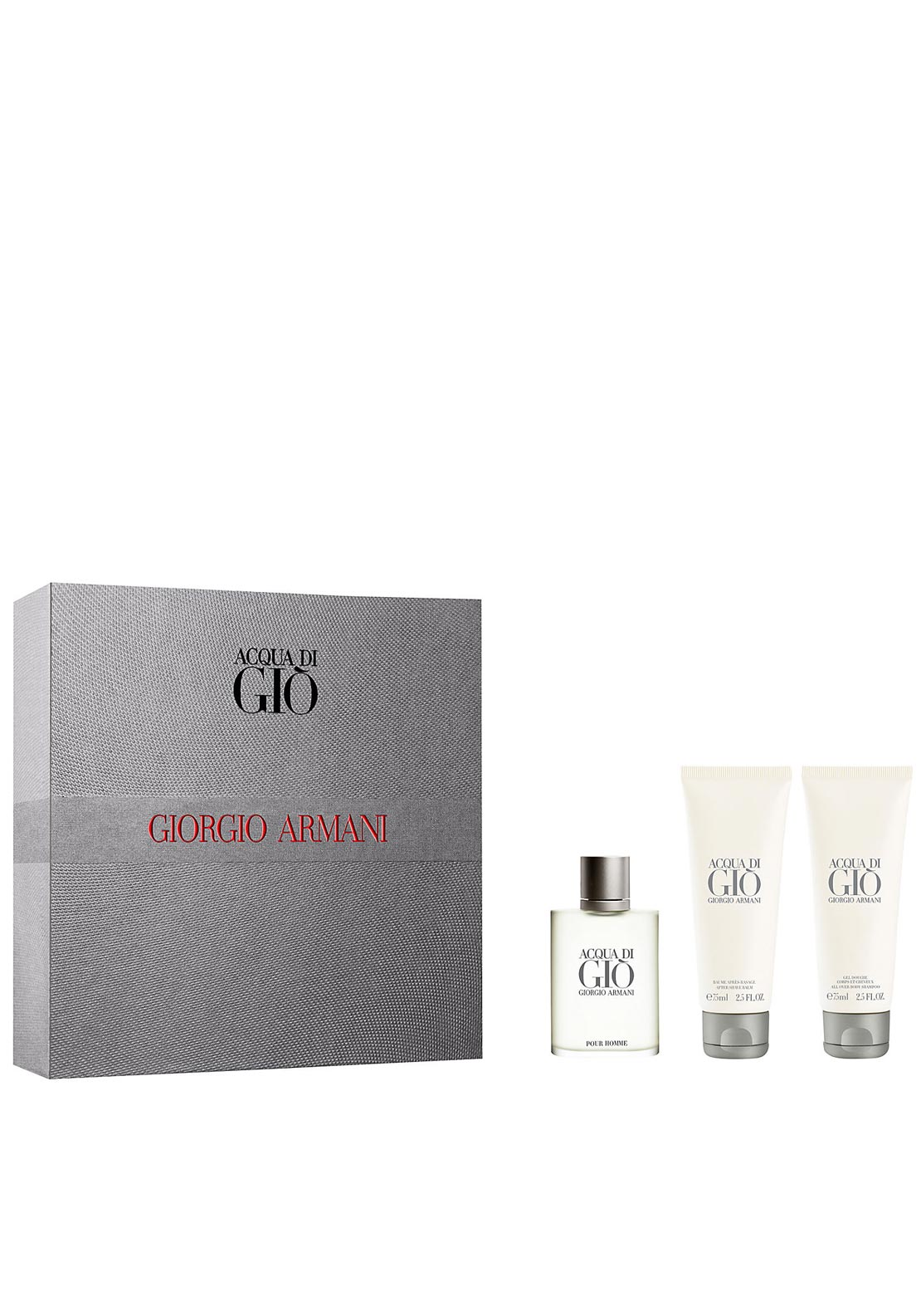 Giorgio Armani Eau de Toilette Acqua Di Gio for Men Gift Set, 50ml