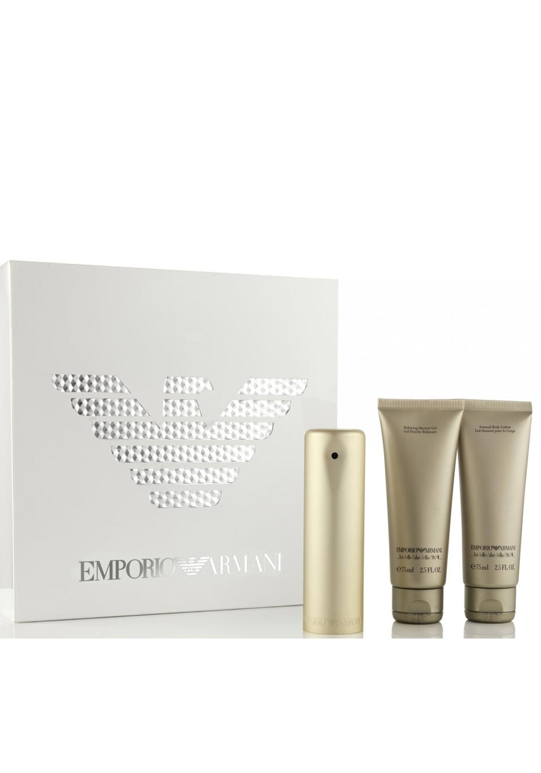 Emporio Armani She Eau de Parfum Womens Gift Set, 50ml