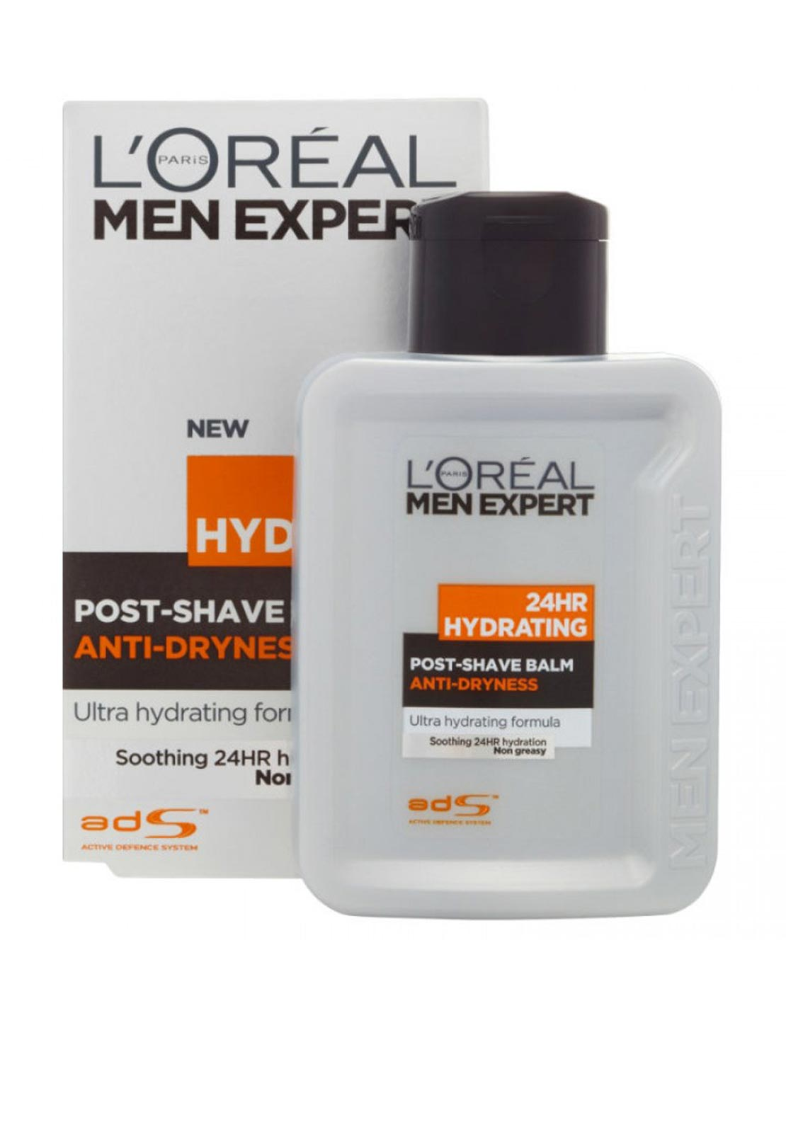 L'Oreal Men 24hr Hydrating Post-Shave Balm Anti-Dryness, 100ml