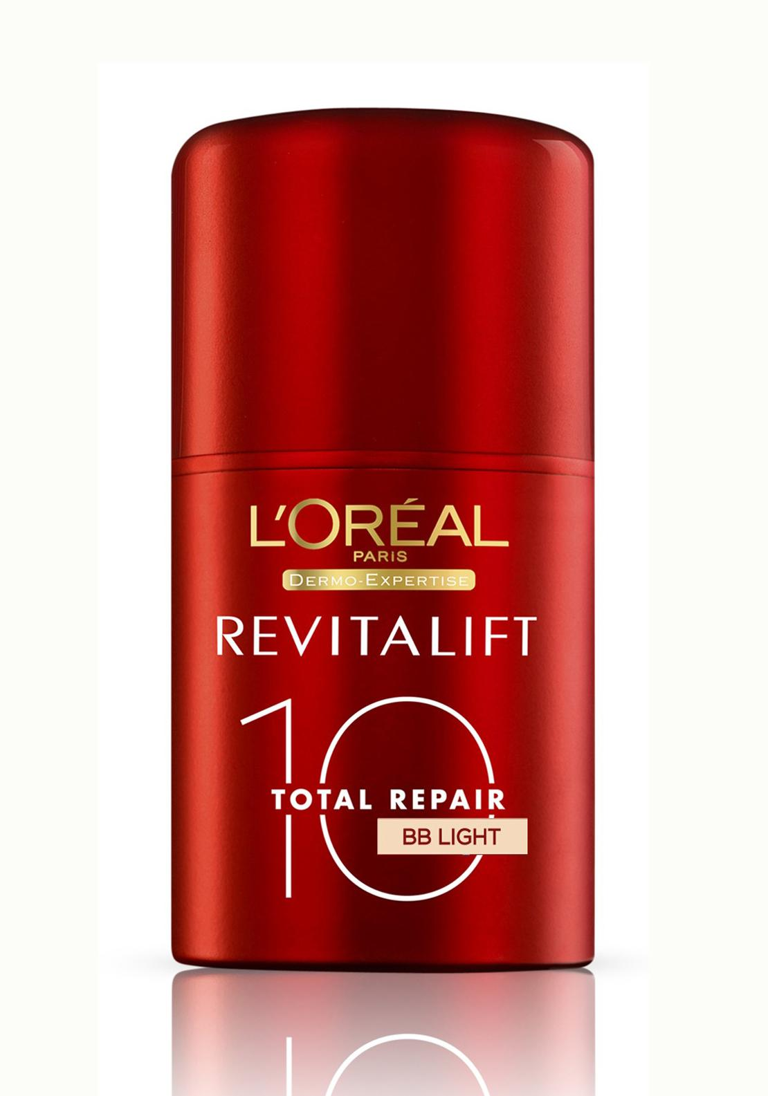 L'Oreal Revitalift Repair 10 BB Cream, Light Tinted