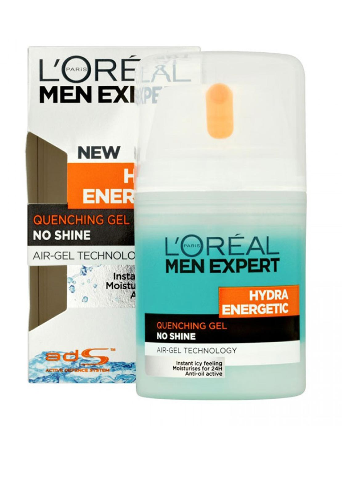 L'Oreal Men Expert Hydra Energetic Quenching Gel, 50ml