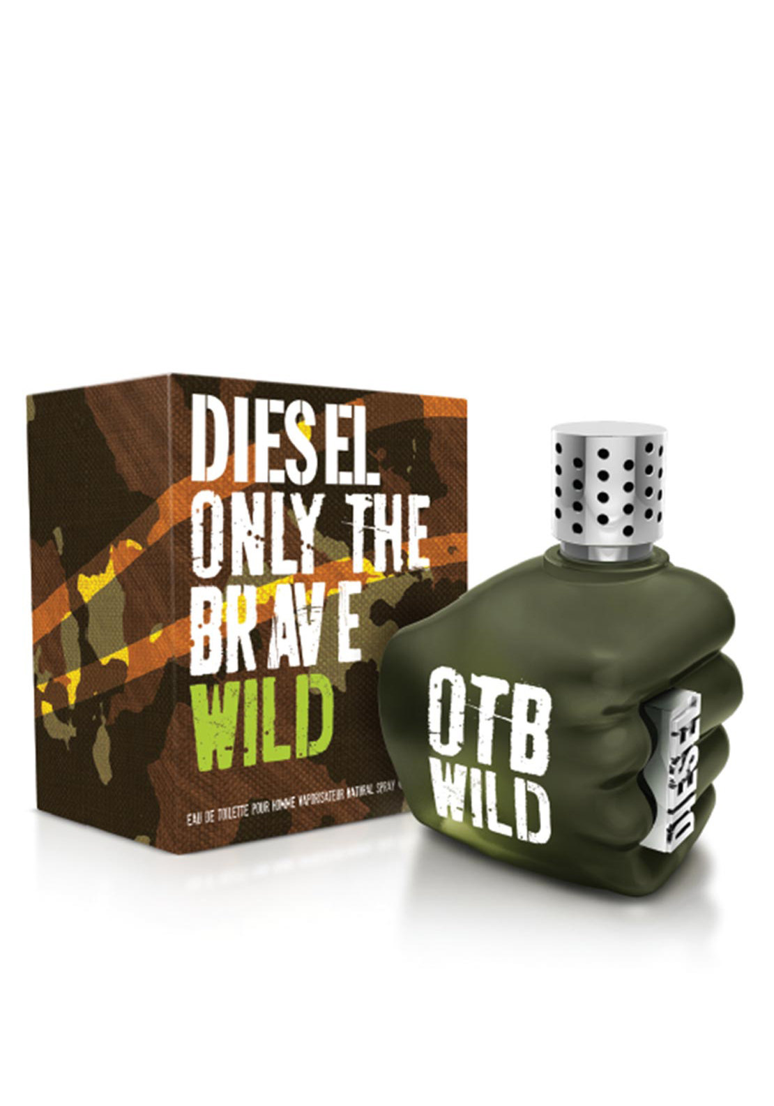 Diesel Only the Brave Wild Eau De Toilette, 50ml