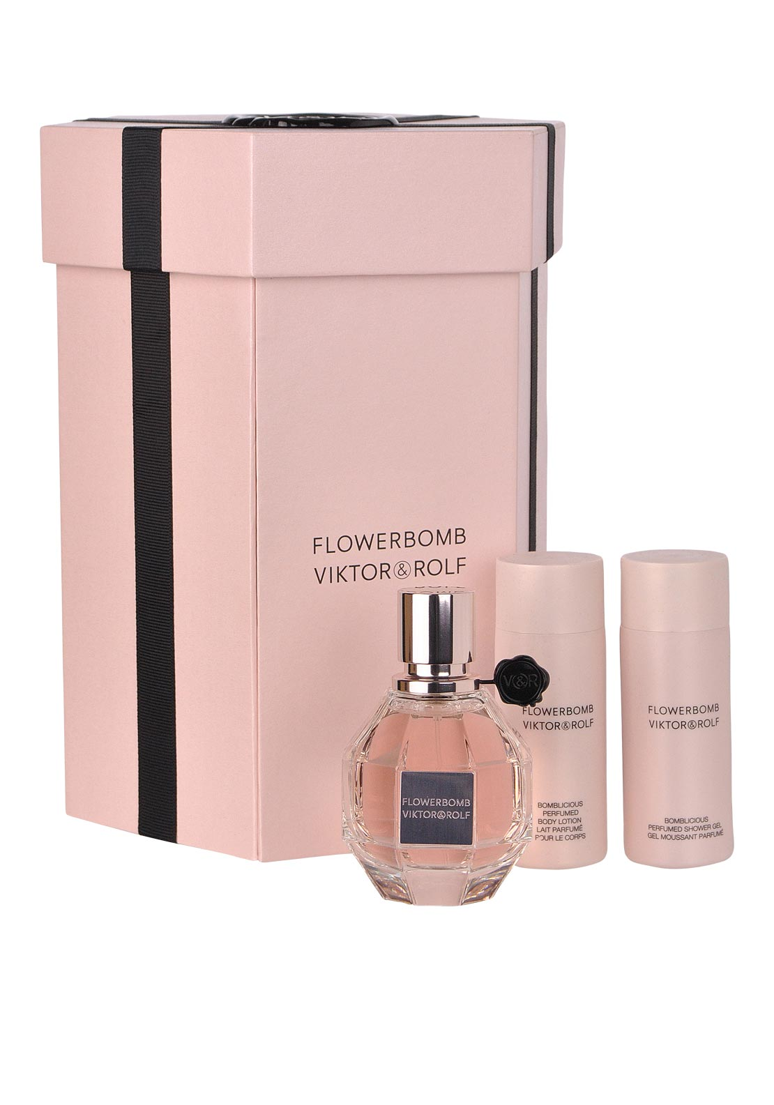 Viktor & Rolf Flowerbomb Eau De Parfum Gift Set for Her, 50ml