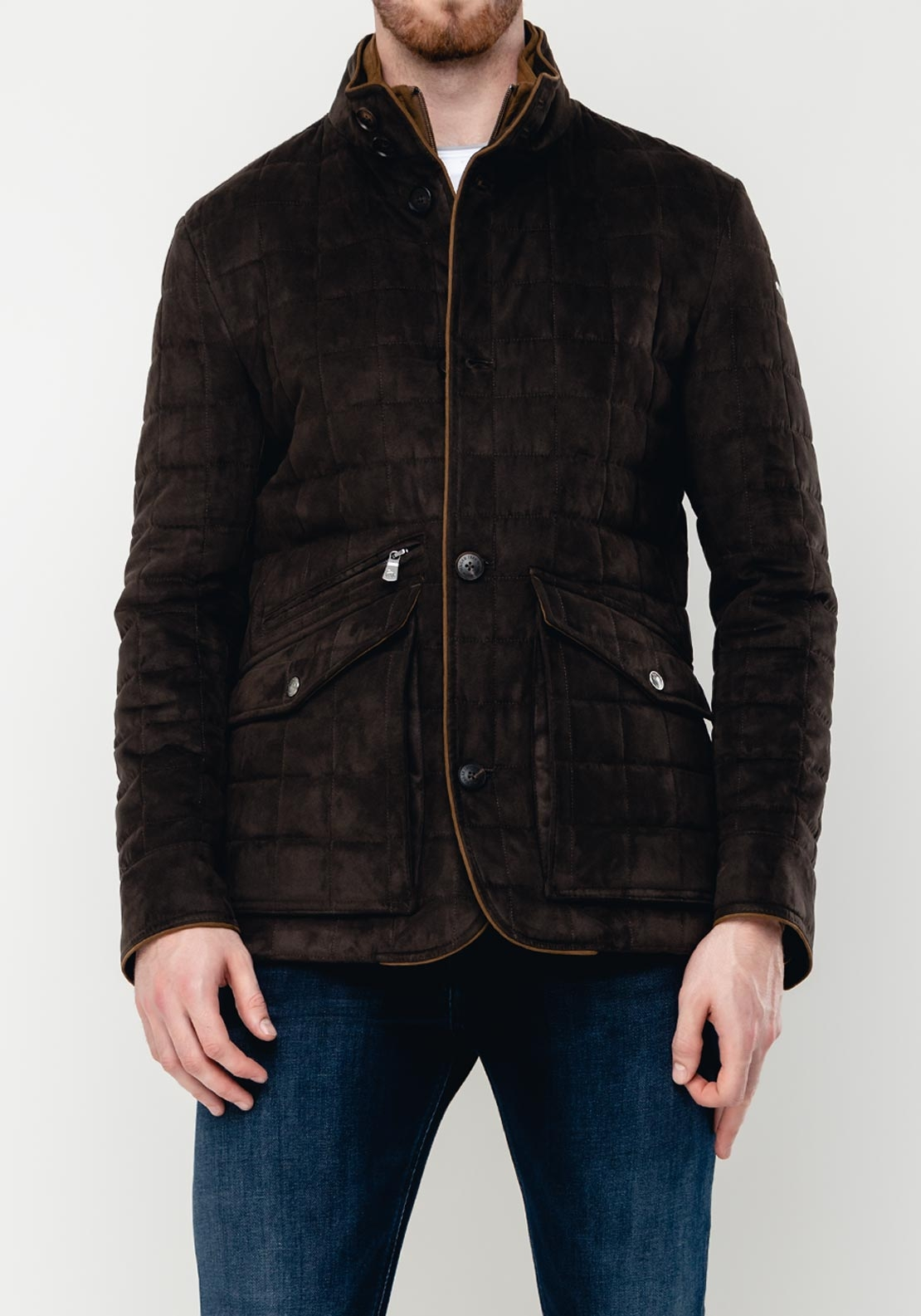 Magee1866 Glenveigh Quilted Jacket, Olive