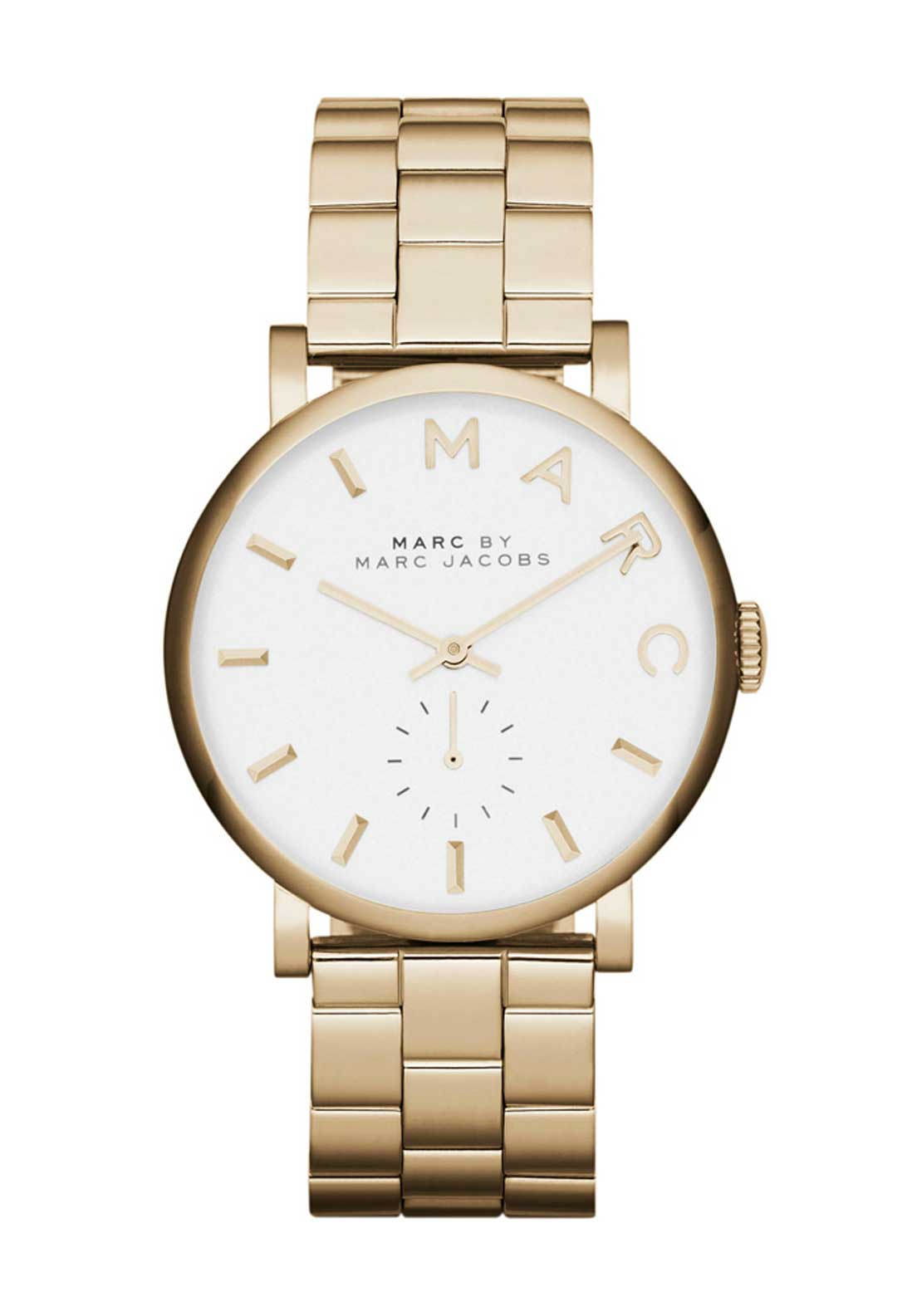 Marc Jacobs Womens Baker Watch, Gold