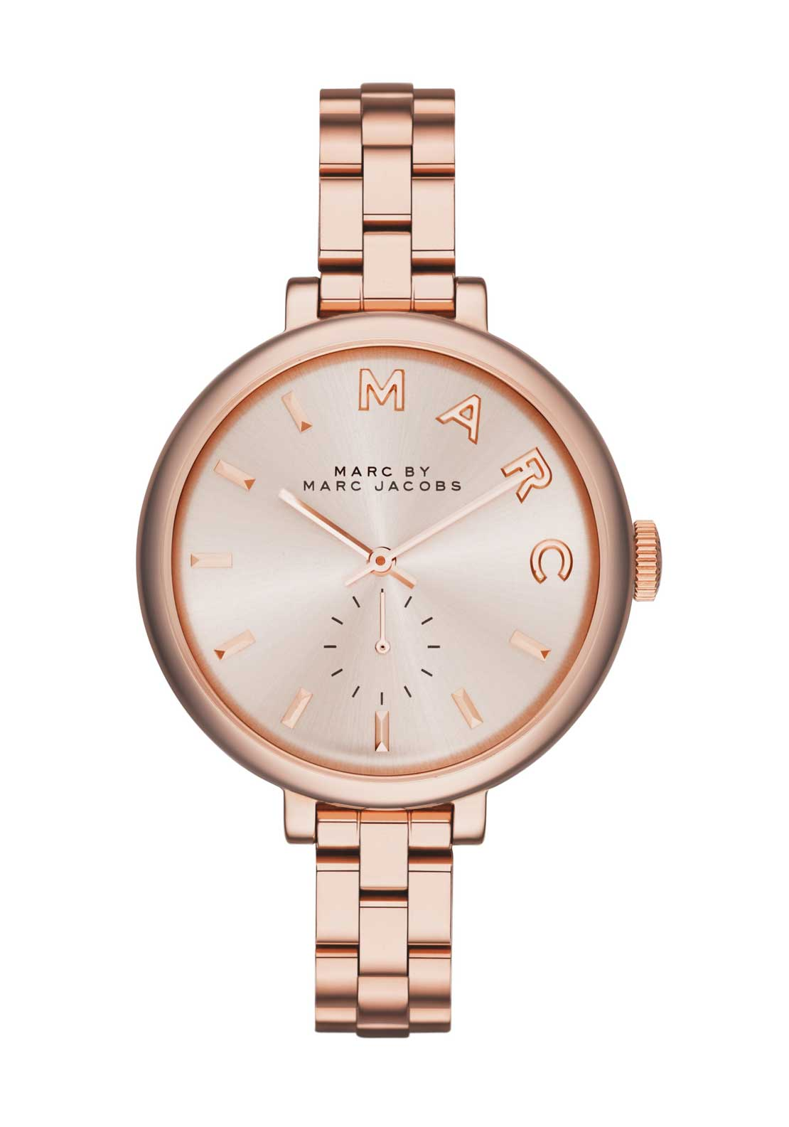 Marc Jacobs Womens Sally Watch, Rose Gold