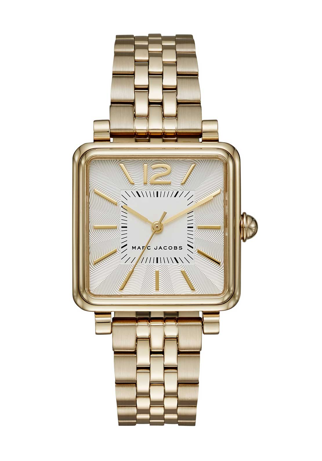 Marc Jacobs Womens Vic Square Face Watch, Gold