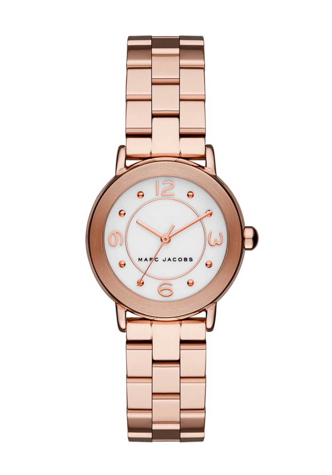 Marc Jacobs Womens Riley Slim Watch, Rose Gold