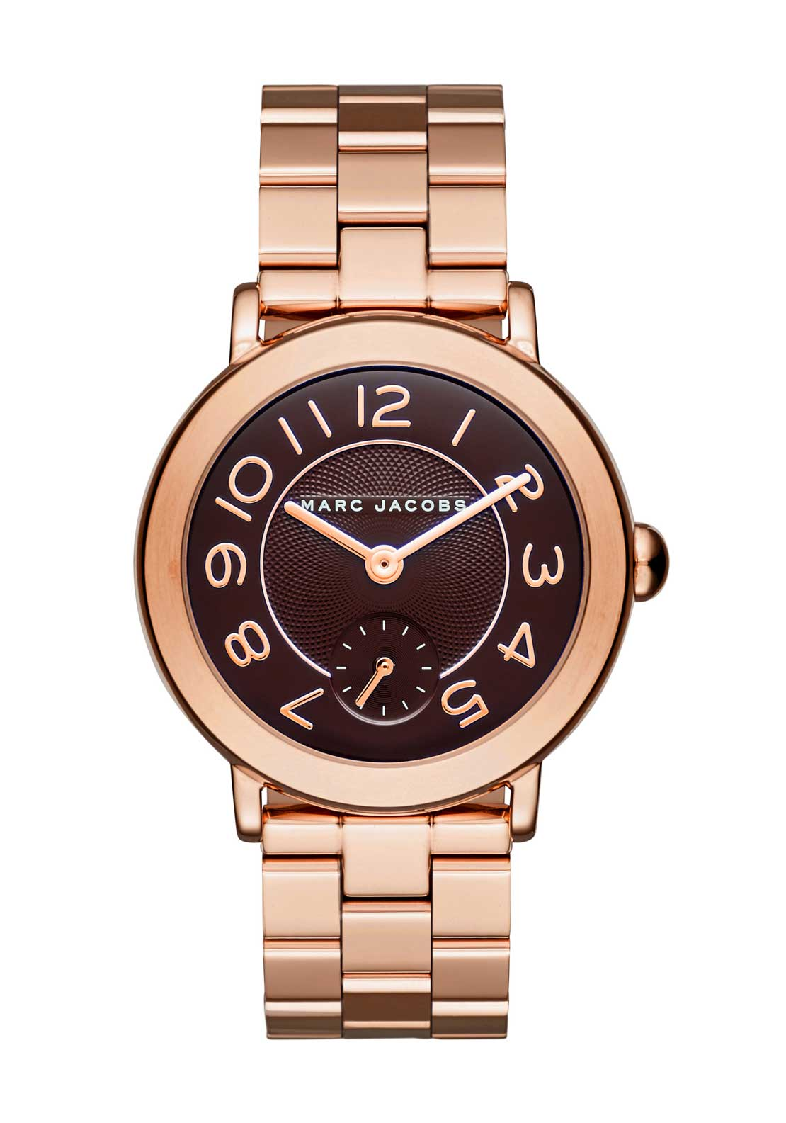 Marc Jacobs Womens Riley Watch, Rose Gold