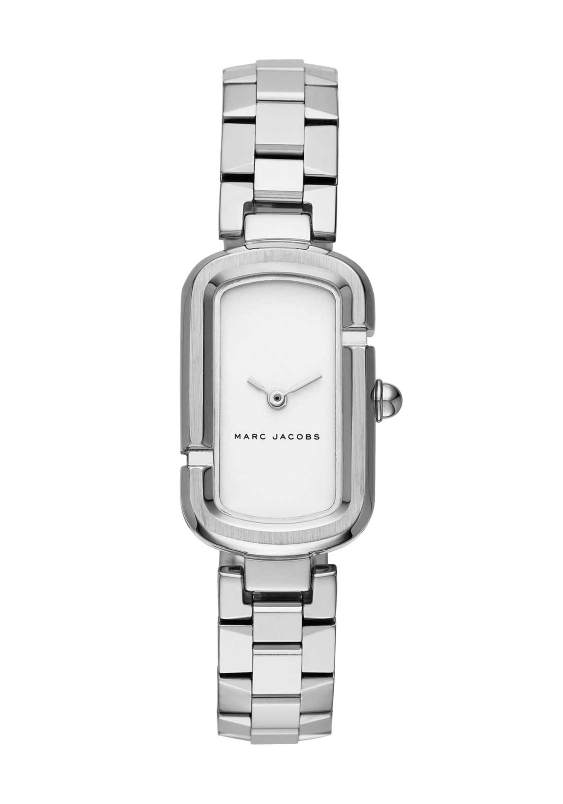 Marc Jacobs Womens The Jacobs Watch, Silver