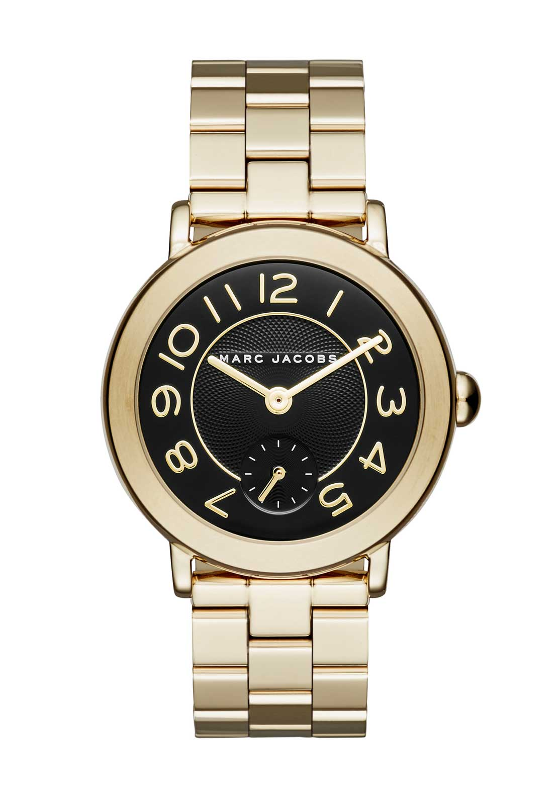 Marc Jacobs Womens Riley Watch, Gold