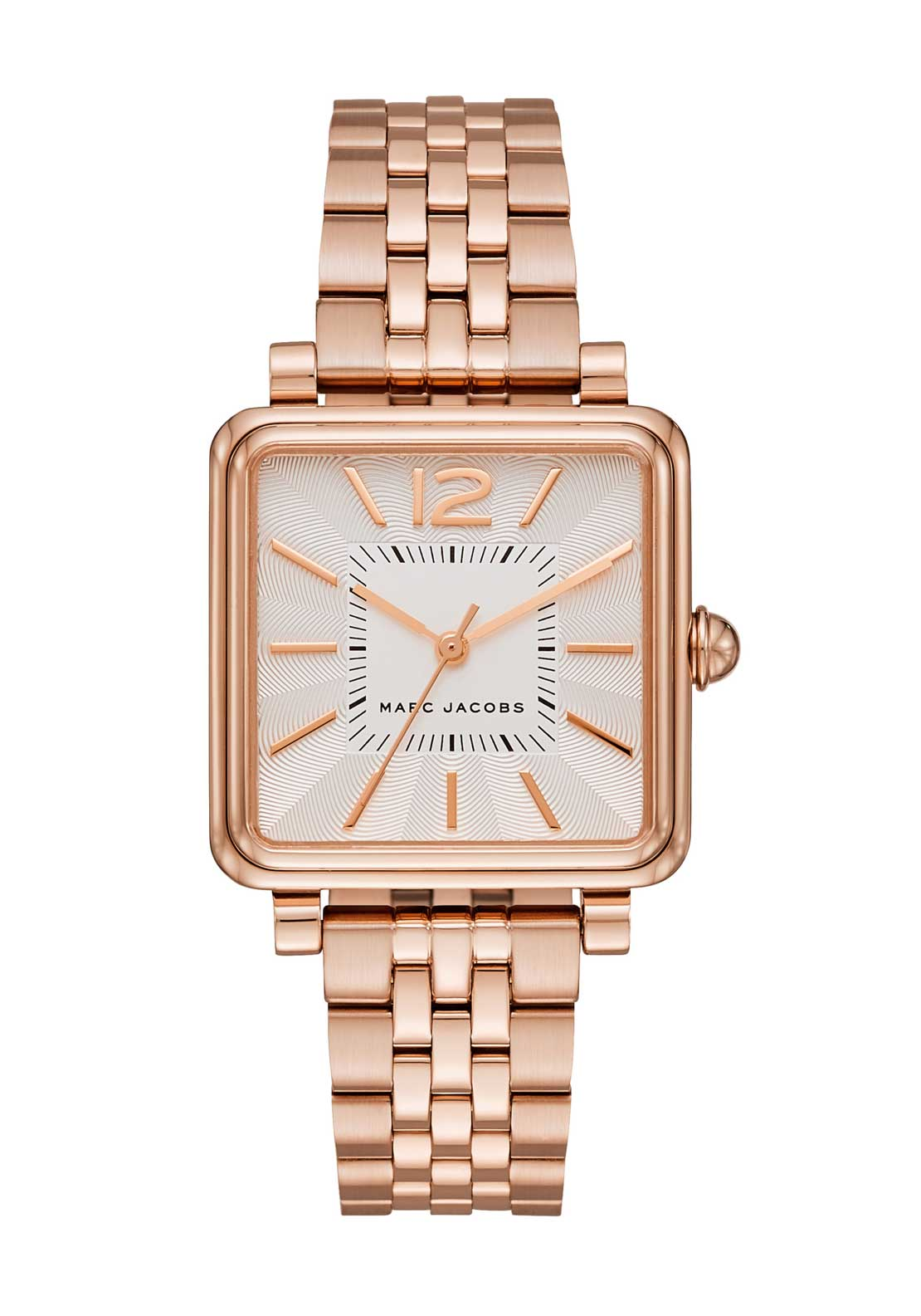Marc Jacobs Womens Vic Square Face Watch, Rose Gold