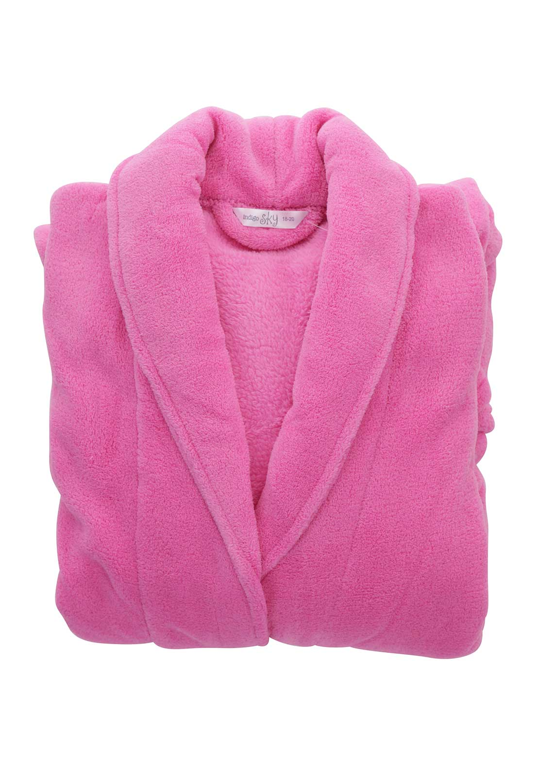 Indigo Sky Terry Dressing Gown, Pink