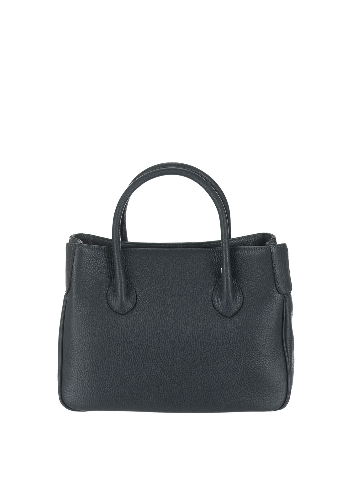 Maxima Leather Grab Bag, Grey