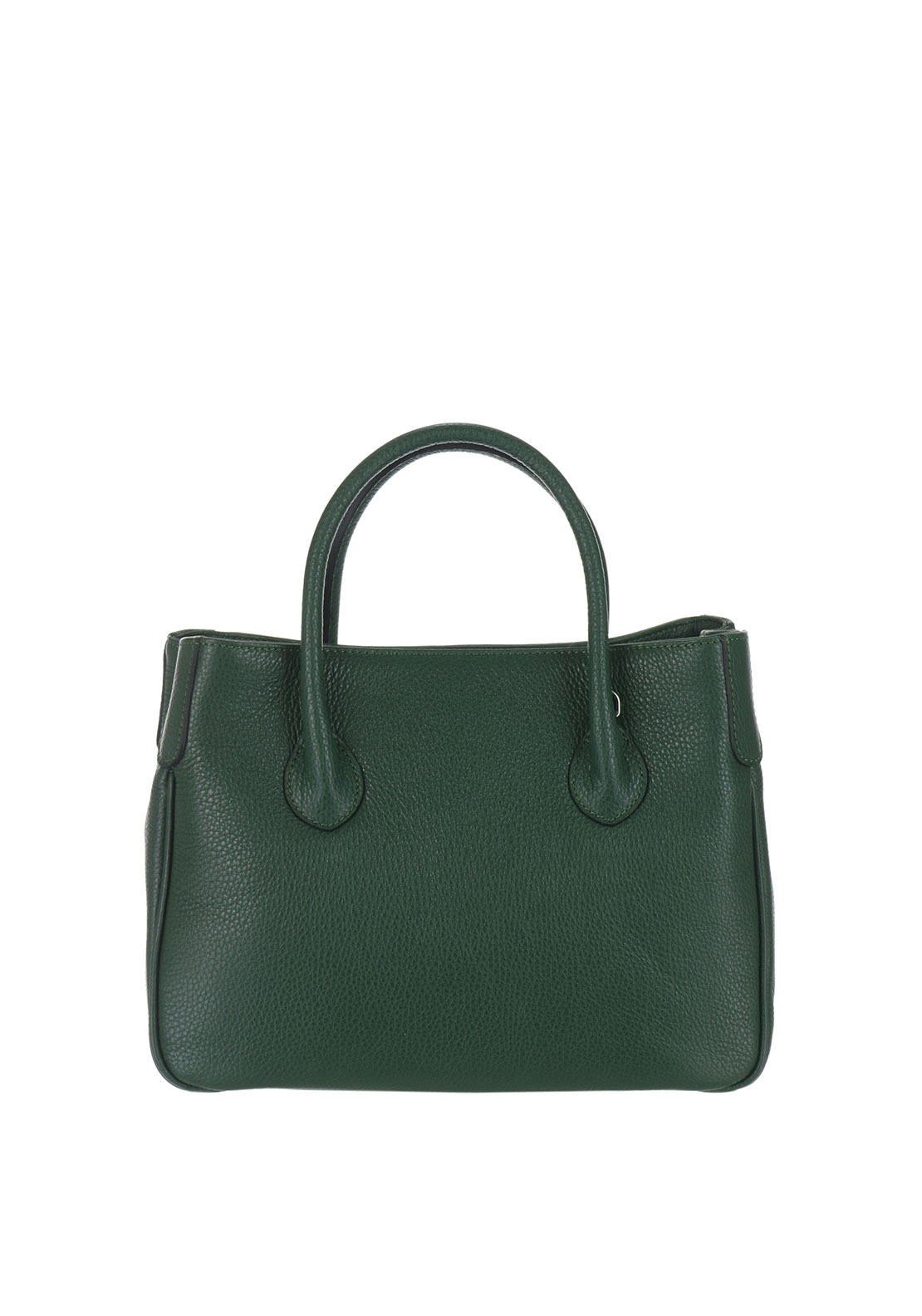Maxima Leather Grab Bag, Green