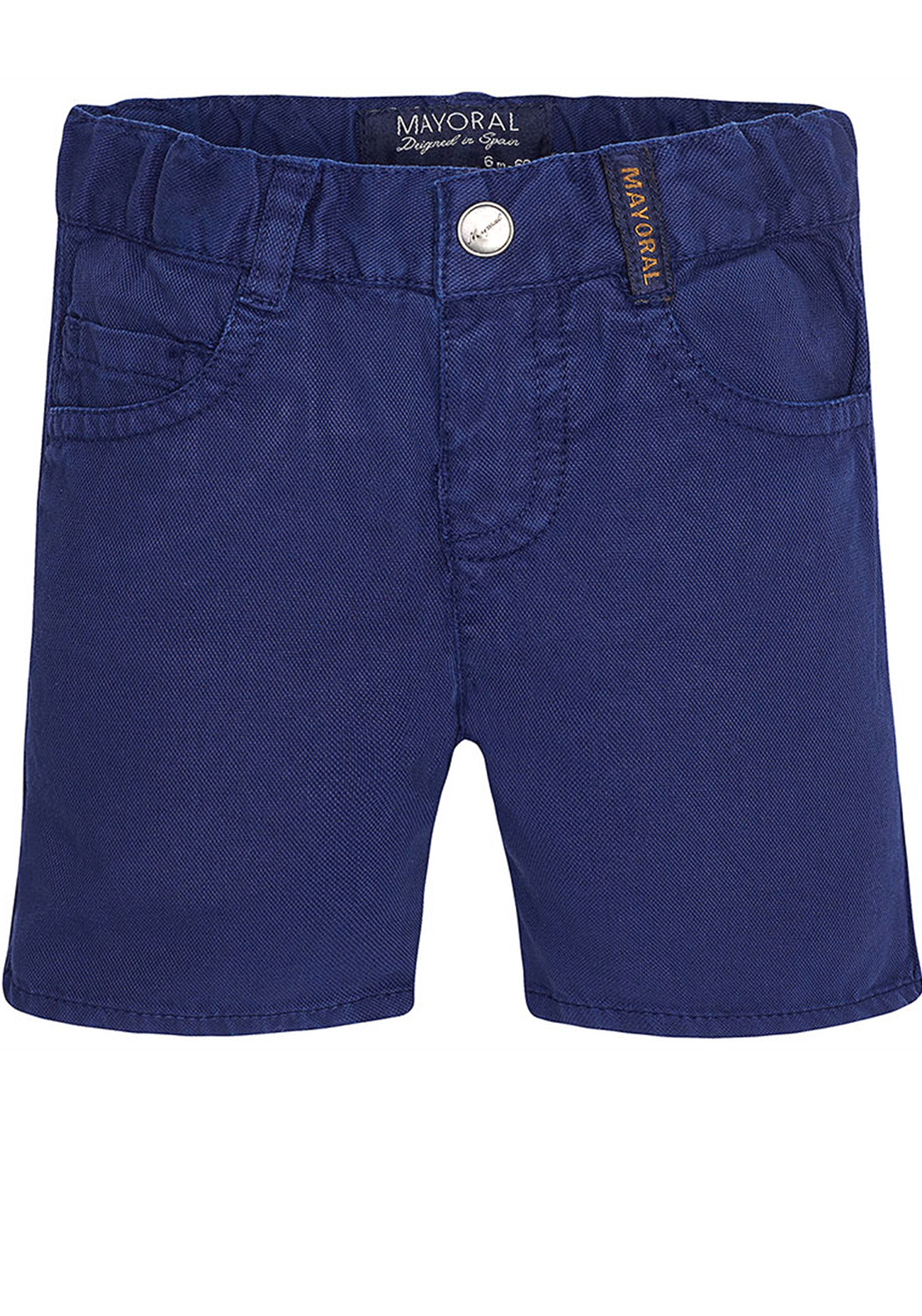 Mayoral Baby Boys Cotton Shorts, Navy