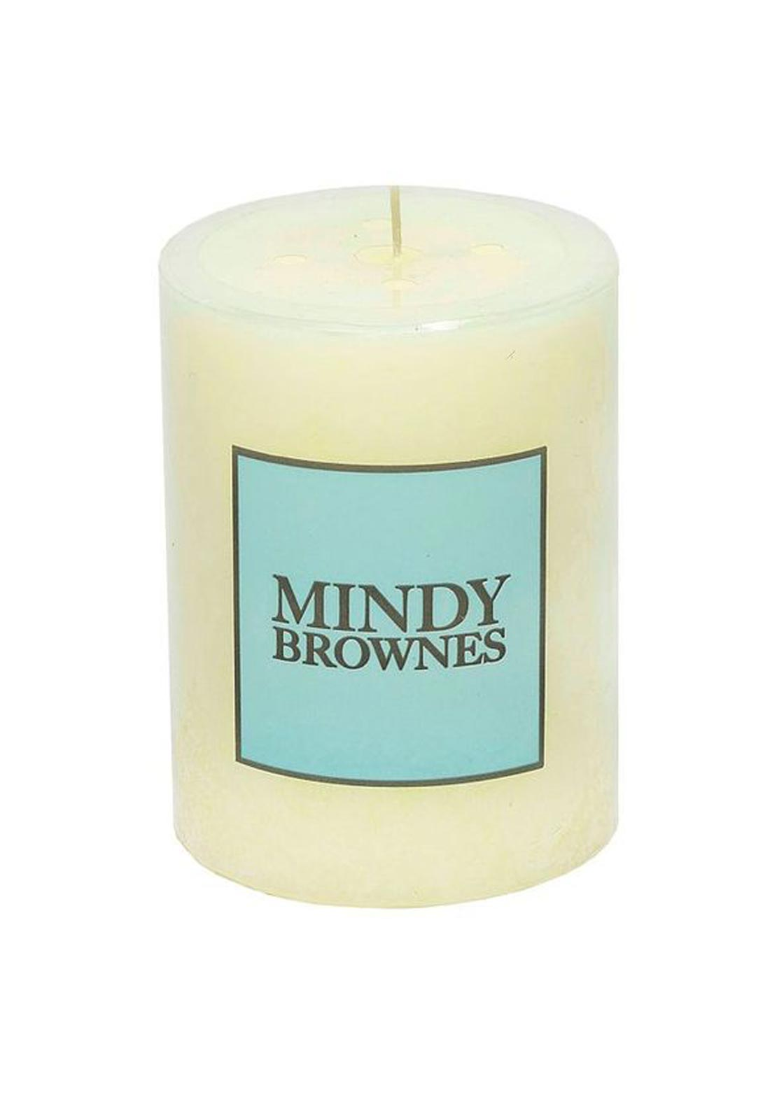 Mindy Brownes Vanilla Scented Pillar Candle, Small