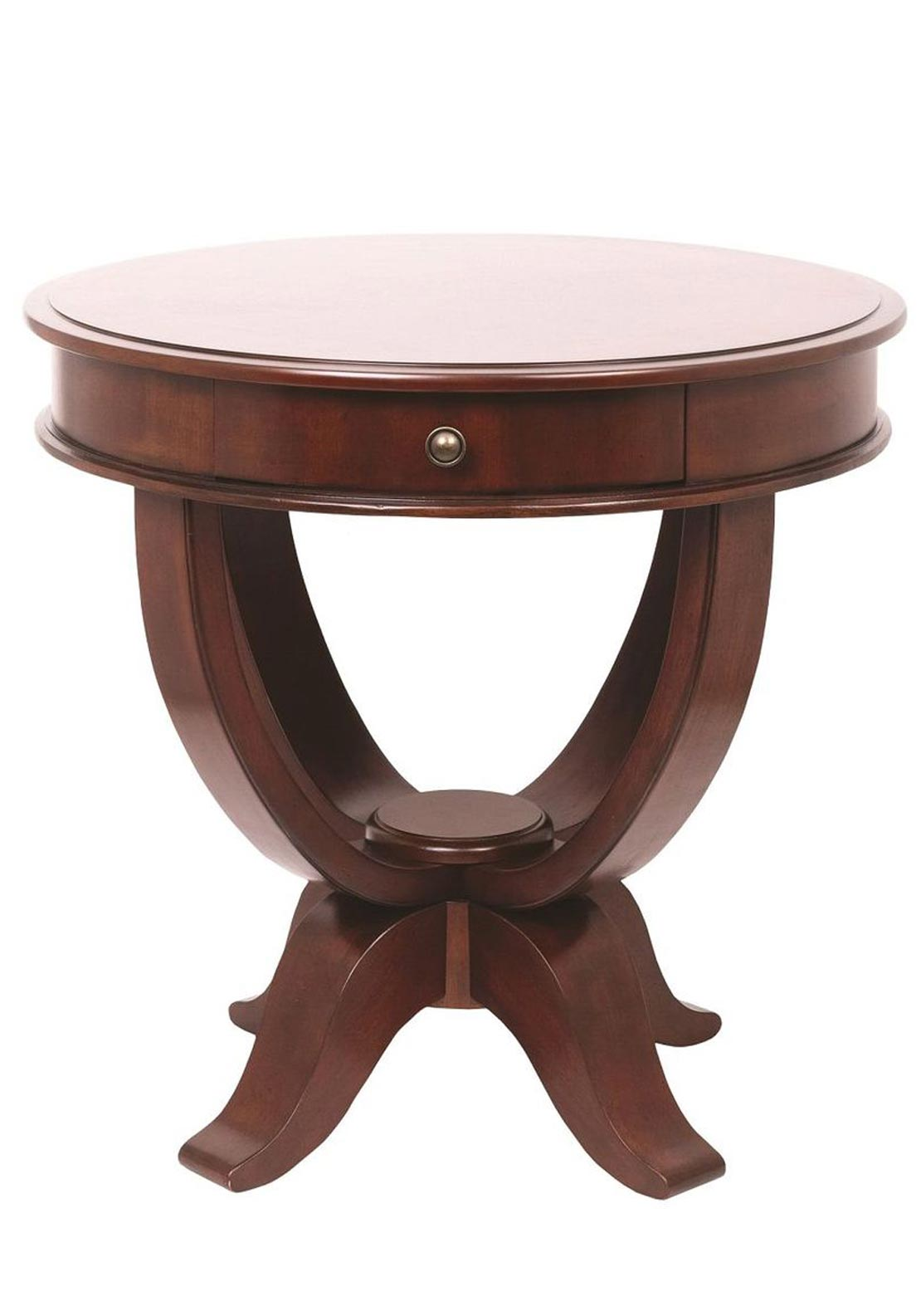 "Mindy Brownes Round Occasional Table Diameter 28"" X Height 27"""
