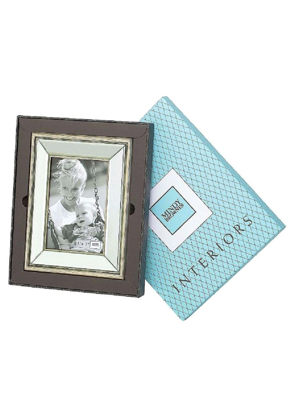 "Mindy Brownes Tammy 4X6"" Photo Frame, Gold"