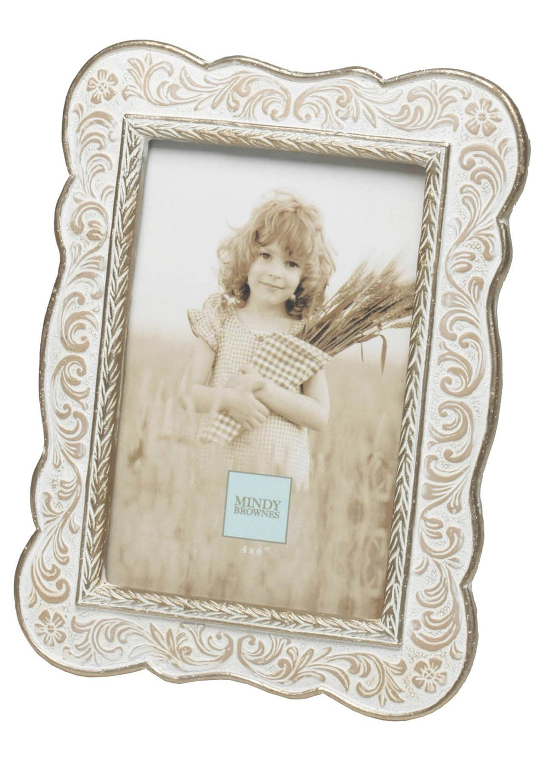 "Mindy Browne Ellie Photo Frame, 4"" X 6"""