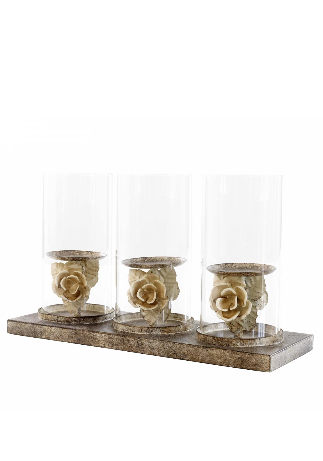 Mindy Brownes Triple Candle Holder Stand, 9 inches