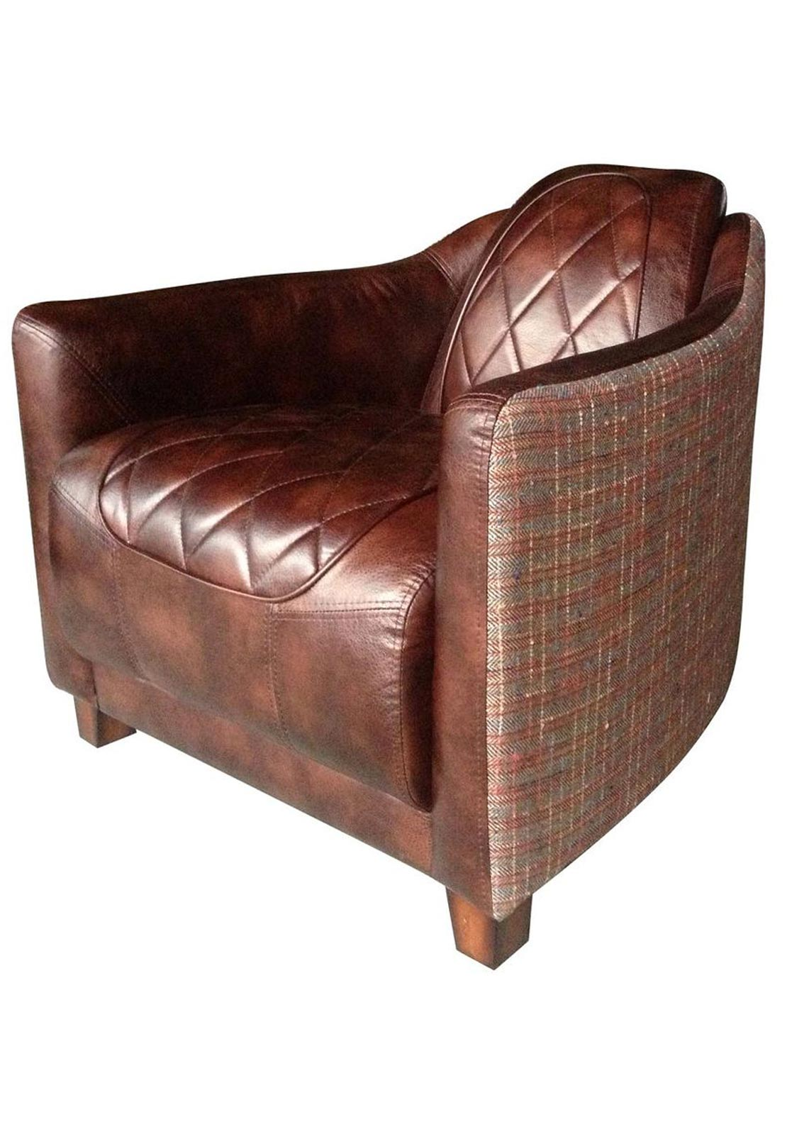 Mindy Brownes Jolene Armchair, Brown