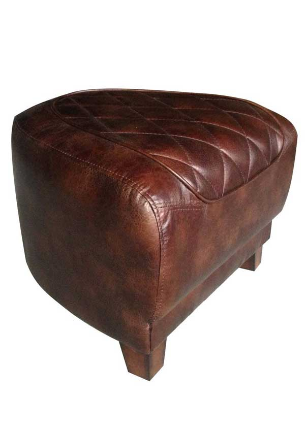 Mindy Brownes Jolene Ottoman, Brown