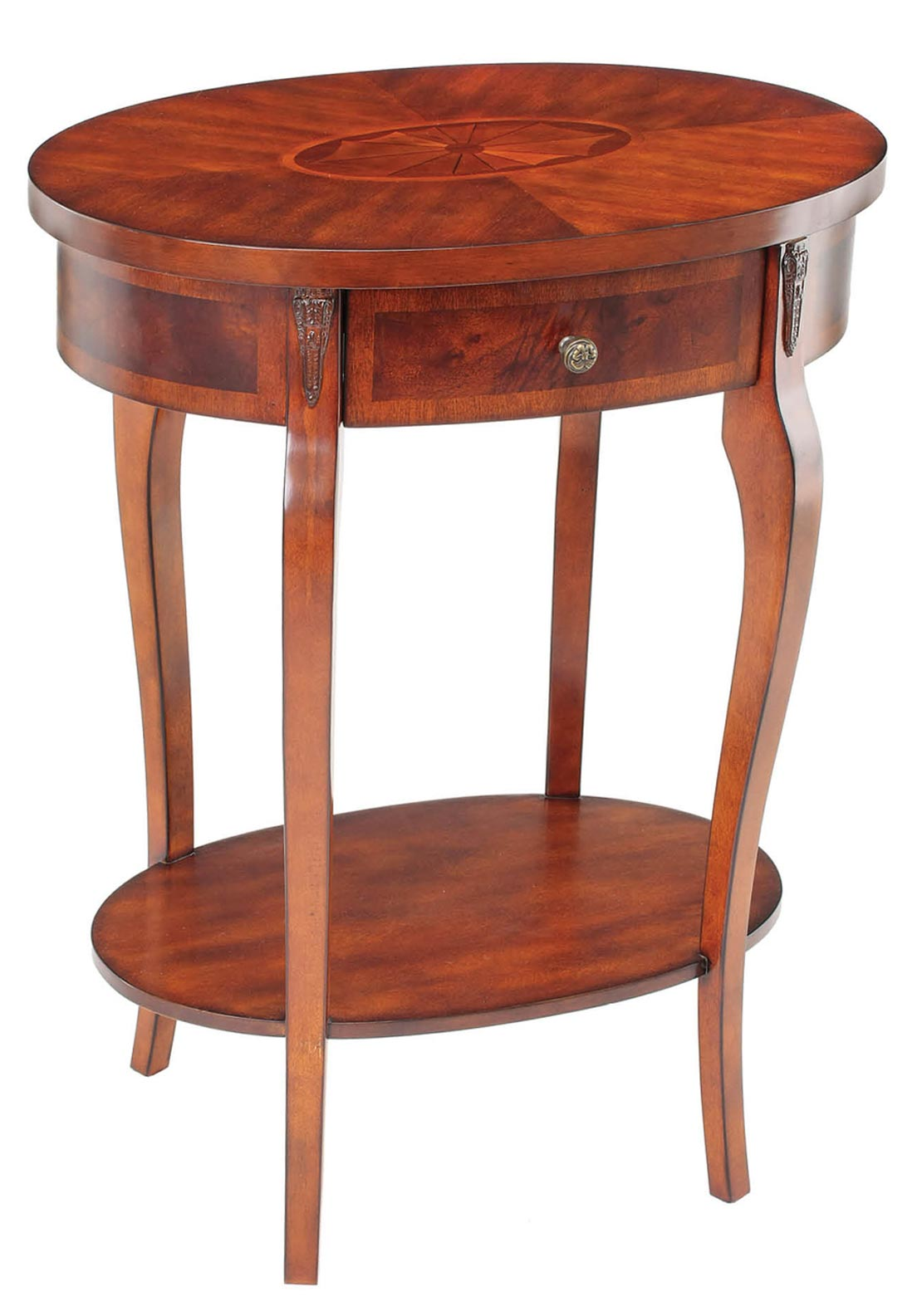Mindy Brownes Oval End Table