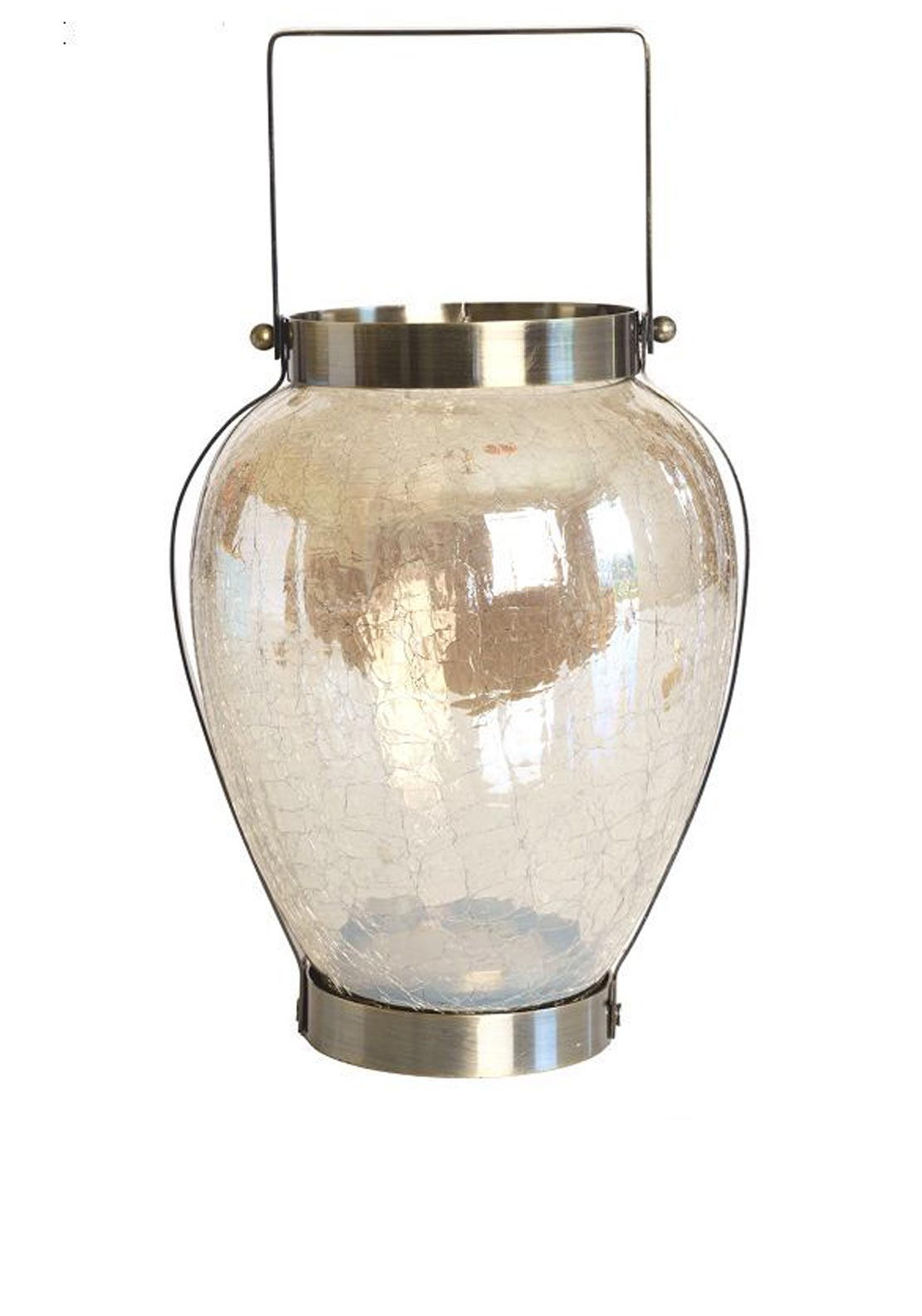 Mindy Brownes Deco Lantern Circular Vase Shape, 13 inches