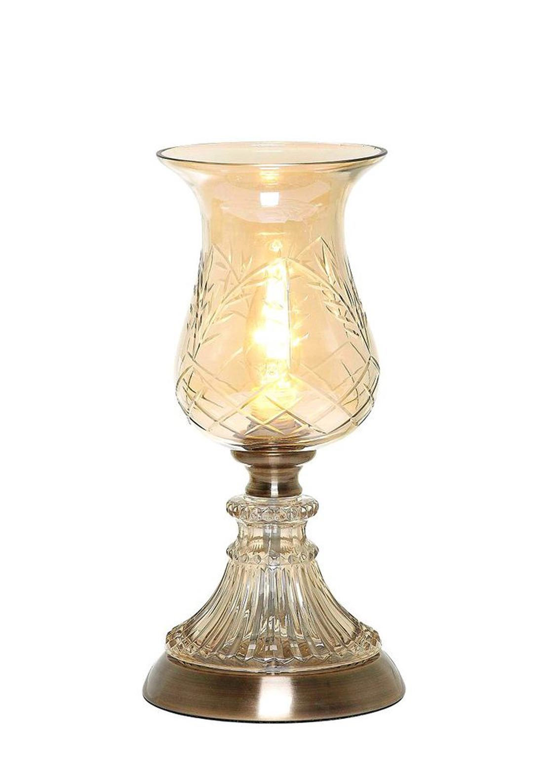 Mindy Brownes Sonia Hurricane Lamp, Glass