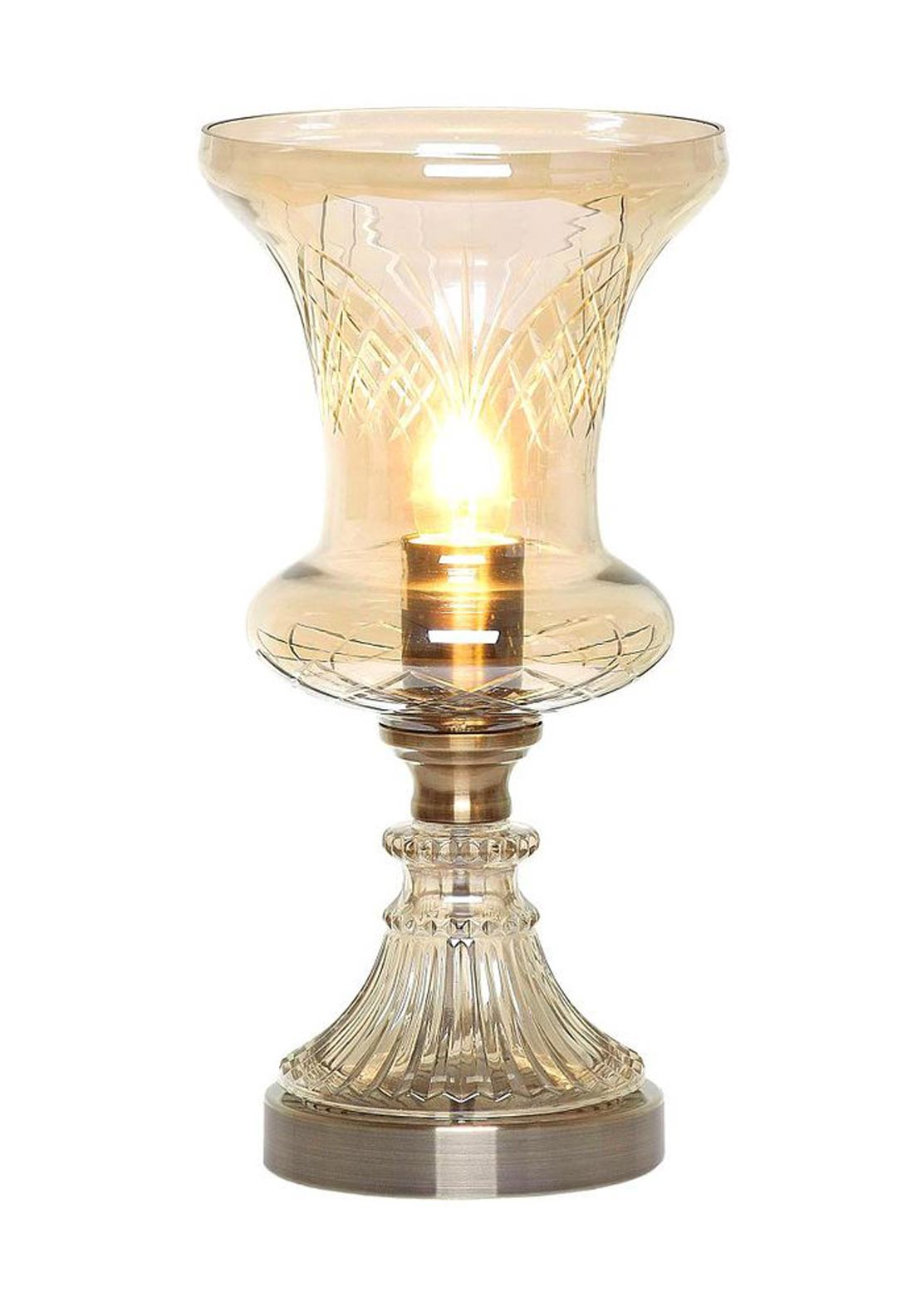 Mindy Brownes Helena Hurricane Lamp, Glass