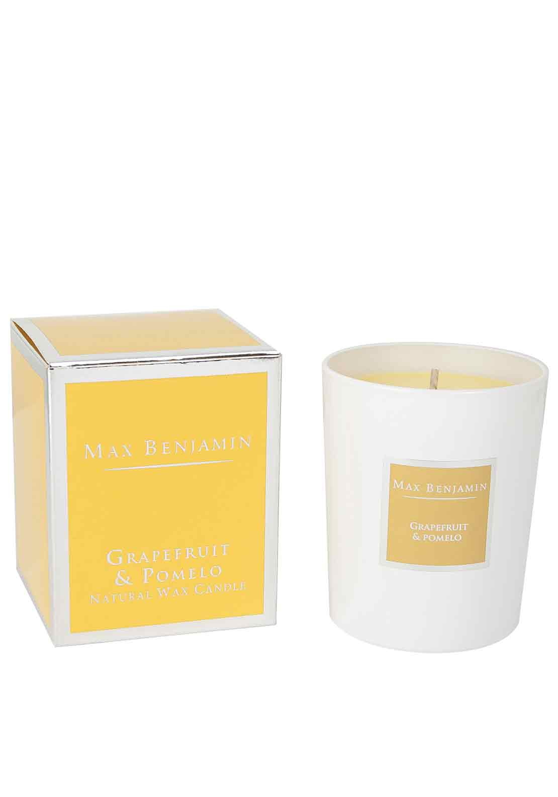Max Benjamin Grapefruit & Pomelo Scented Candle
