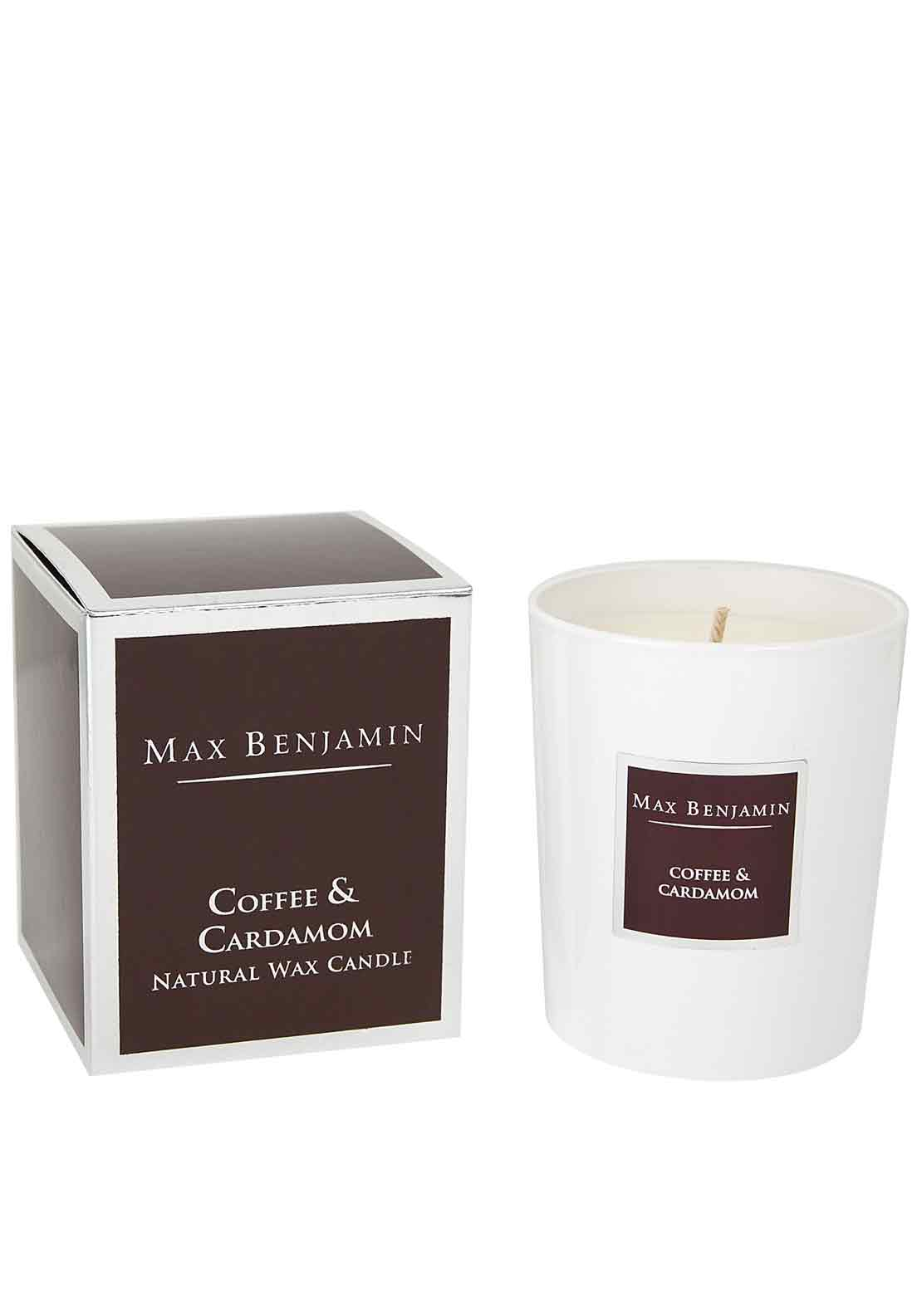 Max Benjamin Coffee & Cardamom Scented Candle, 190g
