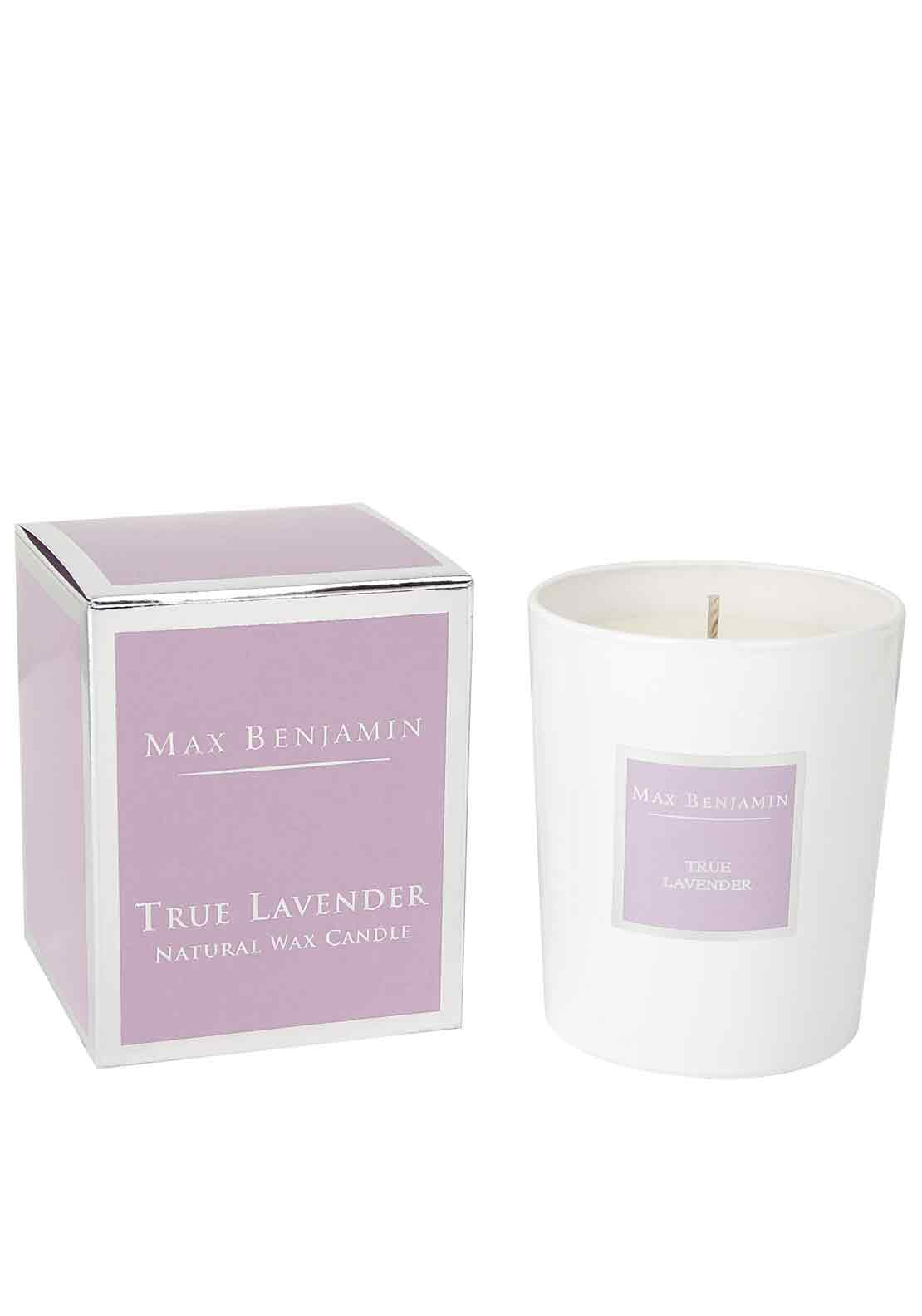 Max Benjamin True Lavender Scented Candle