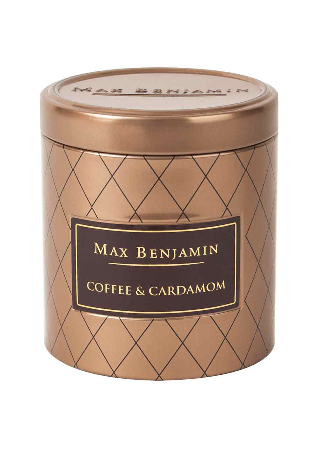 Max Benjamin Coffee & Cardamom Scented Candle, 170g
