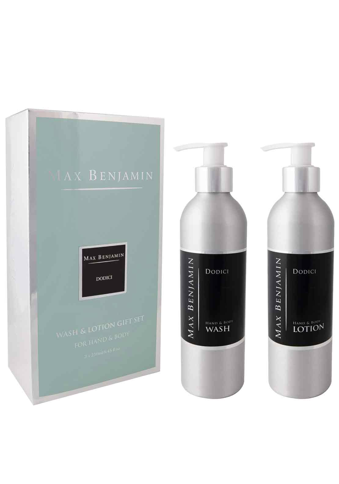 Max Benjamin Dodici Hand & Body Wash & Lotion Gift Set