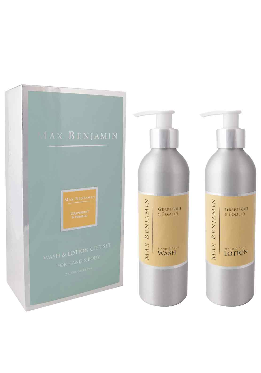 Max Benjamin Grapefruit & Pomelo Hand & Body Wash & Lotion Gift Set