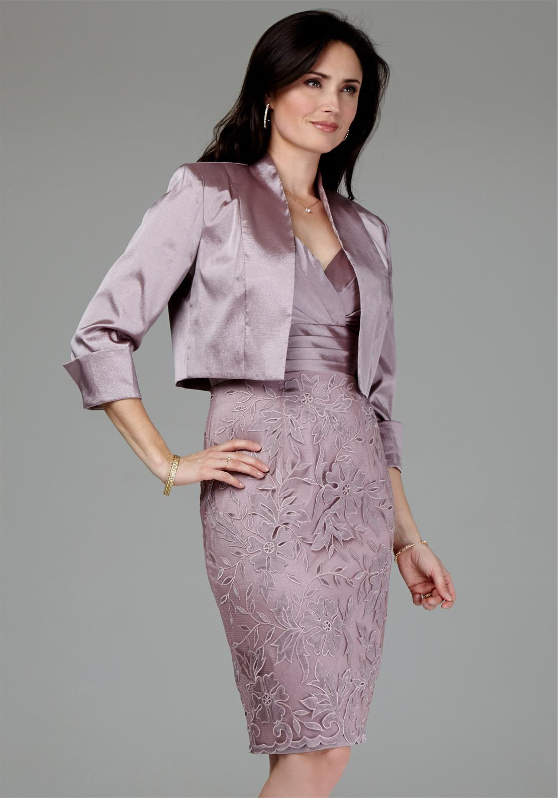 Mascara Amethyst Dress and Bolero