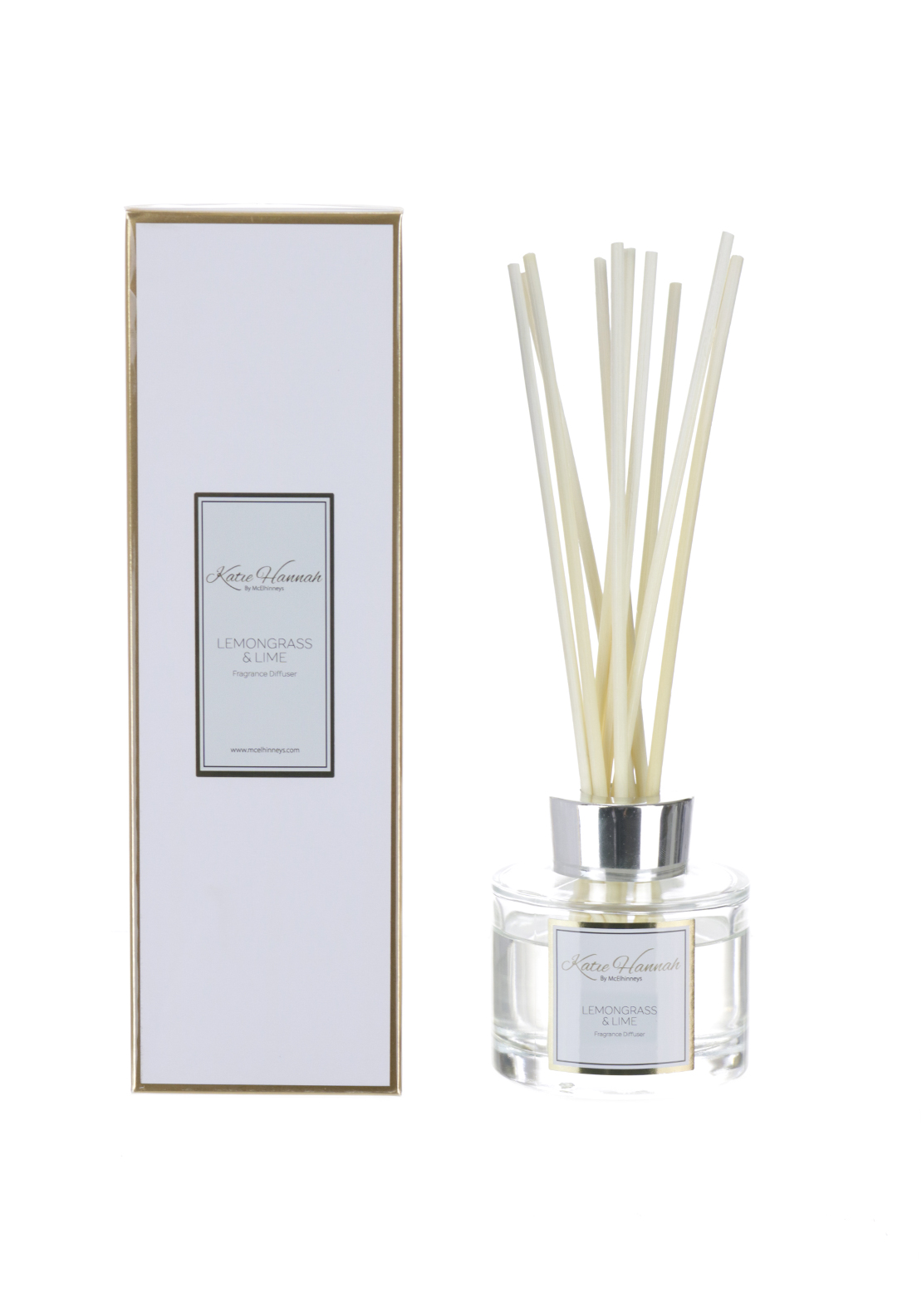Katie Hannah By McElhinneys Lemongrass & Lime Reed Diffuser