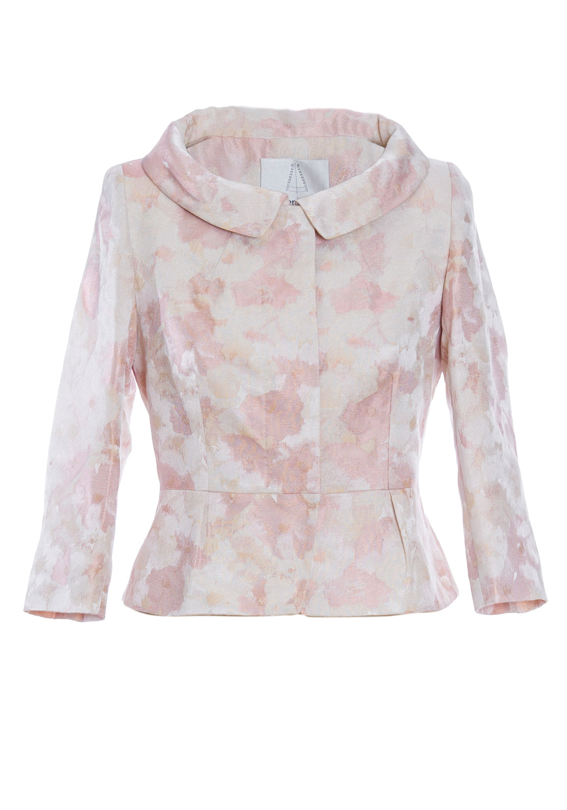 Aideen Bodkin Melia Floral Jacket, Jacquard