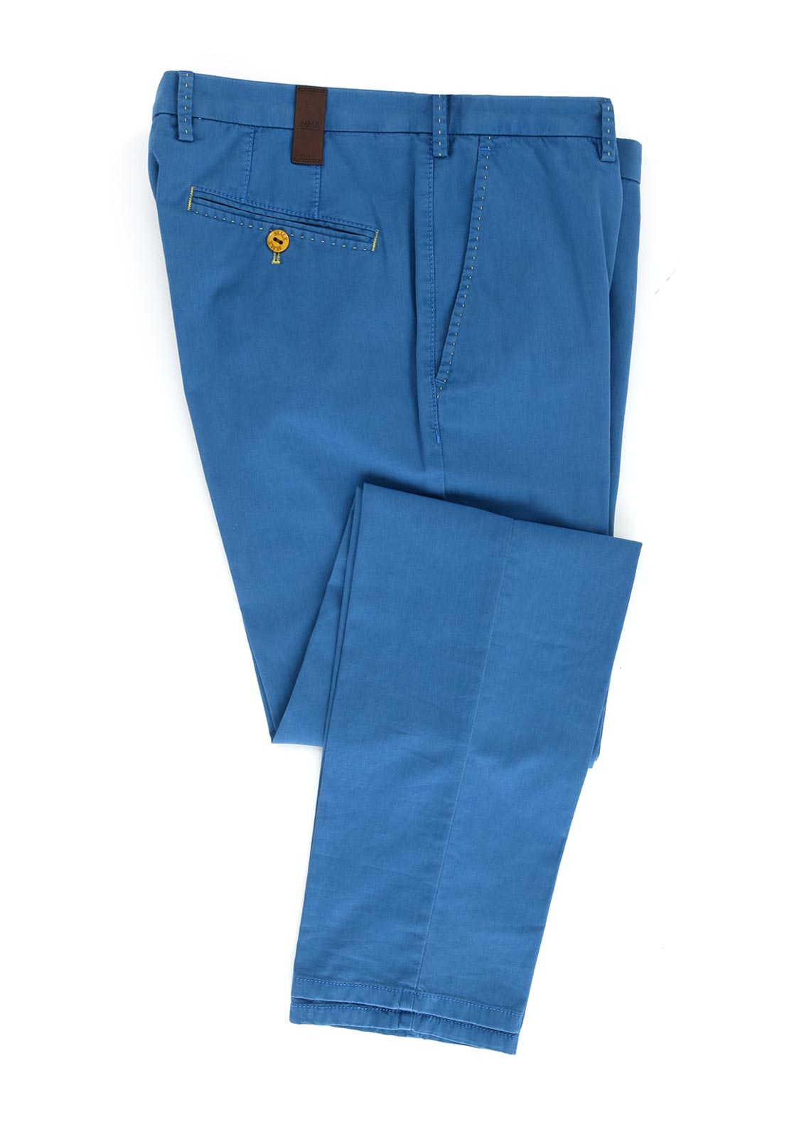 MMX by Meyer Lynx Cotton Stretch Trouser, Blue
