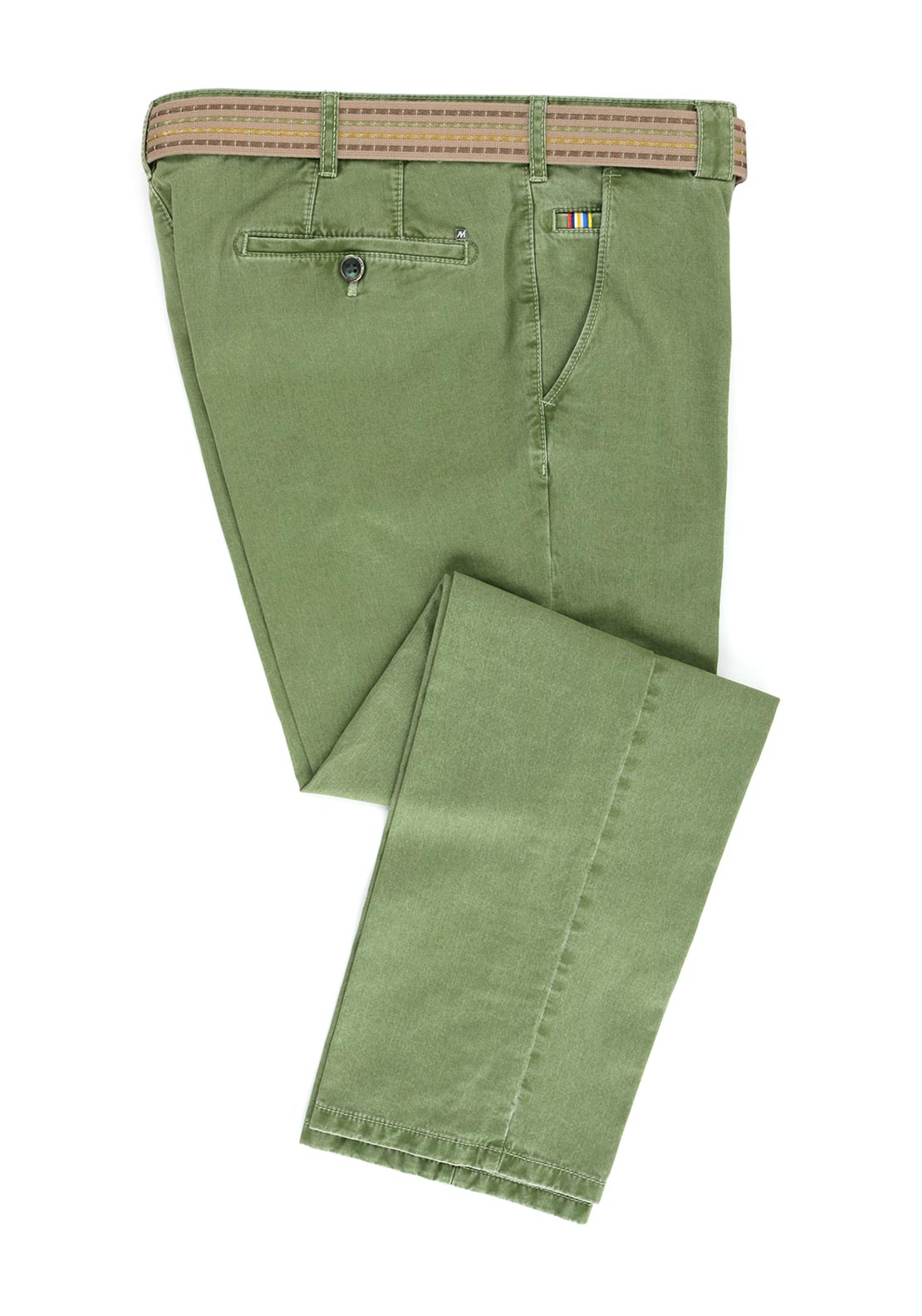 Meyer Roma Cotton Comfort Trouser, Green