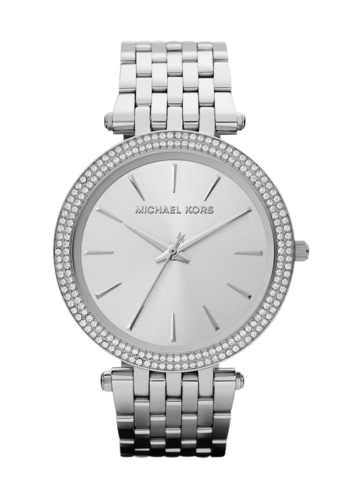 Michael Kors Womens Darci Watch, Silver